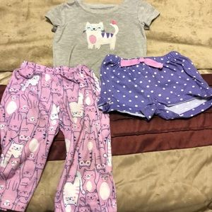 Size 18 month 3 piece pajamas by Carter
